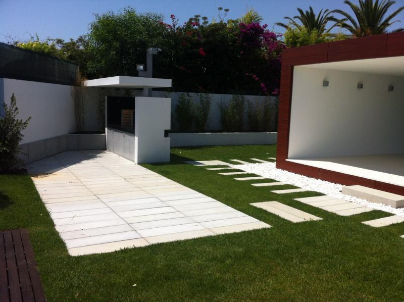 decoracao de jardins exteriores de Jardim